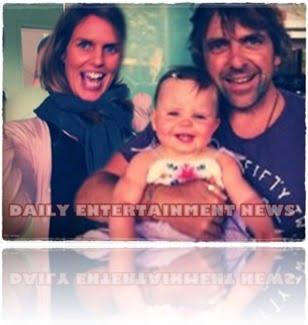 Adam Strange wife Meg Strange daughter pic