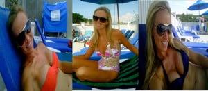 Ashley Morrison bikini pic