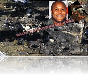 Chris Dorner dead burned body photo