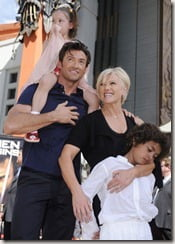 Deborra Lee furness jackman children