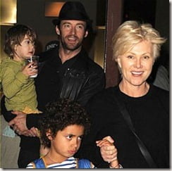 Hugh Jackman children