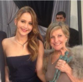 Karen Lawrence is Jennifer Lawrence's Mother
