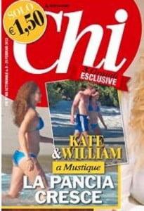 Kate Middleton pregnant photo chi magazine