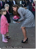 Kate Middleton pregnant pic
