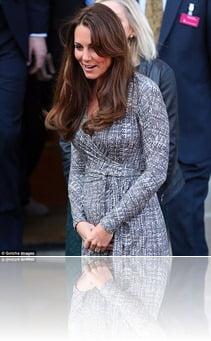 Kate Middleton pregnant pics