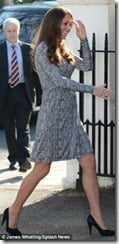 Kate Middleton pregnant-picture