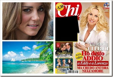 Kate Middleton Bikini Pregnant Photos on Chi Magazine