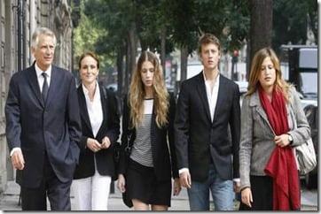 Marie de Villepin family album