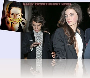 Millie Brady Harry Styles girlfriend image