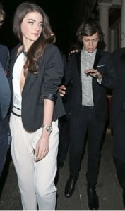 Millie Brady Harry Styles girlfriend photo