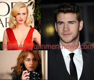liam hemsworth miley and january jones