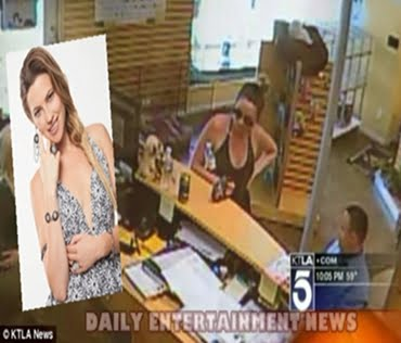 Brittanie Weaver- Model caught Peeping Tom taking pics up her Skirt with iPad (PHOTOS)
