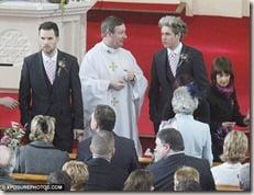 Greg Horan Denise Kelly wedding picture