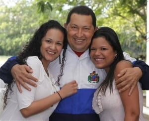 Rosa Virginia and Maria Gabriela Chavez are Venezuelan President Hugo Chavez' Daughters