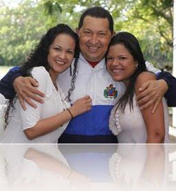 Hugo Chavez daughter rosa virginia maria gabriela