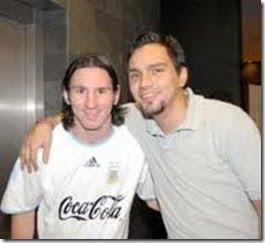 Hugo chavez Lionel Messi