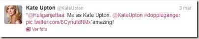 Kate Upton tweet