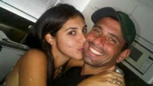 Venezuelas' presidential candidate Henrique Capriles Girlfriend is Maribel Petrola