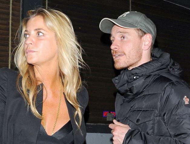 Who is Michael Fassbender's Mystery Blonde Date ... Michael Fassbender Girlfriend
