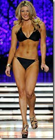 Miss America Mallory Hagan before