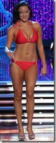 Miss Hawaii Skyler Kamaka before