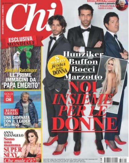 Pope Benedict's First Photos On Chi Magazine