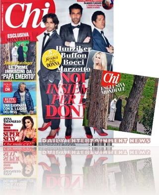 Pope Benedict Chi Magazine