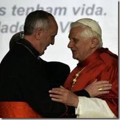 Pope francis Jorge Mario Bergoglio Pope Benedict