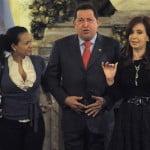 Hugo Chavez, Cristina Fernandez, Rosa Virginia Chavez