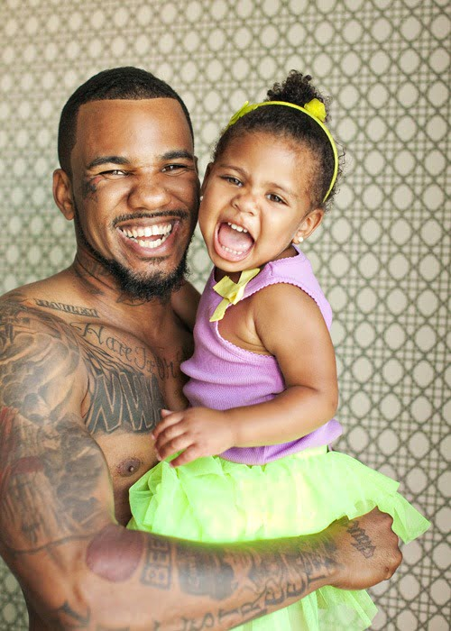 Photo of The Game & his  Daughter  King