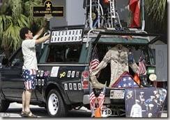 Carlos Arredondo on Memorial Day 2009