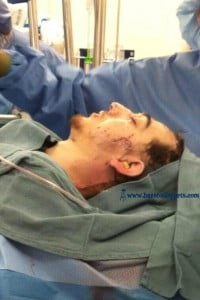 DZHOKHAR-TSARNAEV-BOSTON-BOMBER-WOUNDED HOSPITAL PIC