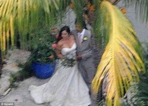 Dominic Lakhan Lindsay Boehner wedding photo