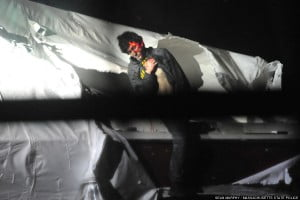 Dzhokhar Tsarnaev arrest photos