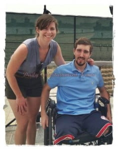 Erin Hurley Jeff Bauman´s Girlfriend – Boston Marathon Victim who lost both Legs