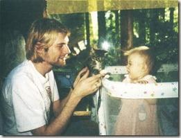 Kurt Cobain Frances Bean Cobain pic