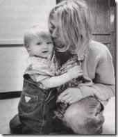 Kurt Cobain Frances Bean Cobain