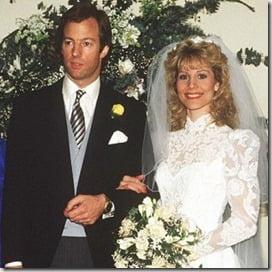 Diane Burgdorf Thatcher- Diane Beckett- Mark Thatcher ex-wife