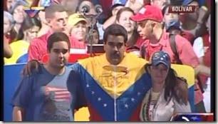 Nicolas Maduro wife Cilia son Nicolas Jr