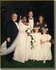 Roger and Chaz Ebert wedding pic