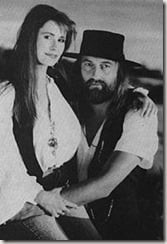 Sara Recor Mick Fleetwood second wife pic