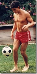 Todd in his footballing days