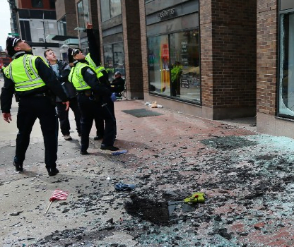 Boston Marathon Bomb Attacks Aftermath – Suspect arrested!! (PHOTOS)