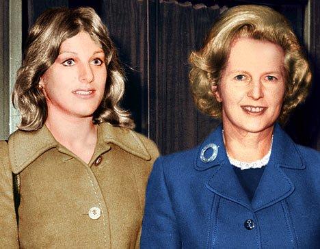 Carol Thatcher - Margaret Thatcher's daughter ...