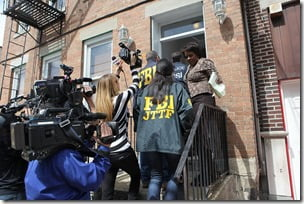 fbi searches home of suspects sister