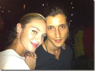 Hermann Nicoli- VS Angel Candice Swanepoel's Boyfriend