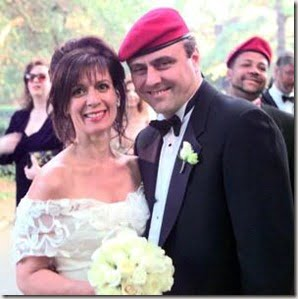 Curtis Sliwa and Mary Galda