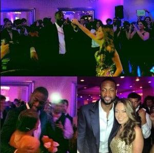 Nicole Muxo- Miami Heat Dwayne Wade High School Prom Date
