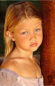 Gigi Hadid Younger years pic