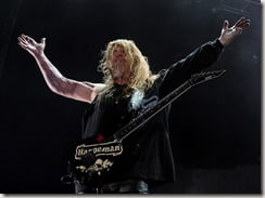 Jeff Hanneman Spider bite